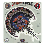 The Grateful Dead Plant and Steal Your Face Logo Sticker