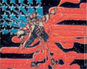 The Grateful Dead Uncle Sam On Melted Flag Sticker