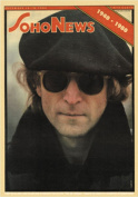 John Lennon Soho News Sticker