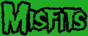 The Misfits Green Logo Sticker