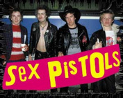 Sex Pistols Band Photo Sticker