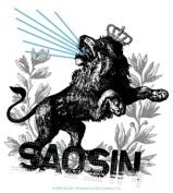 Saosin Lion Sticker