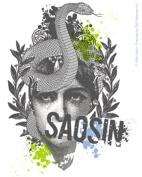 Saosin Snake Lady Sticker