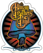 Allman Brothers Radiant Shroomsticker