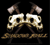 Shadows Fall Skull Sticker