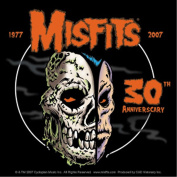 The Misfits 30Th Anniversary Sticker