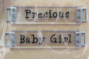 All My Memories Expressions - Precious/Baby Girl Crystal Ribbon Slides