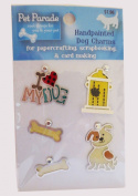 Pet Parade Handpainted Dog Charms
