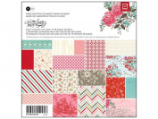 BasicGrey True Love Collection Scrapbook Paper Pad, 15cm by 15cm