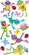 EK Success Brands Sticko Stickers, Happy Frogs