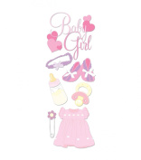 Jolee's Boutique Dimensional Sticker, Baby Girl