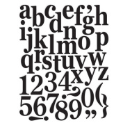 7gypsies 17799 97% Certifiable Set Monogram Classic Alphabet 11x8
