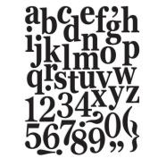 7gypsies 17799 97% Certifiable Set Monogram Classic Alphabet 11x8