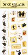 Stick-a-bilities~50 stickers~Graduation~Diploma~Mortar Board
