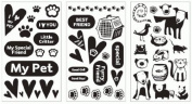 Around the Block Foil Transfer Kit - Create Foil Stamps without Heat! - Pets