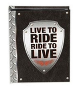LIVE TO RIDE Brag Book holds 24 prints by Prinz - 4x6