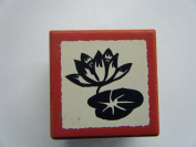 Chinese Lucky Symbol Lotus=purity Rubber Stamp
