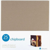 Silhouette 25-Pack Chipboard
