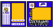 UNIFORMED Louisiana State University 2-Page Layout Decorative Paper, 20cm by 20cm