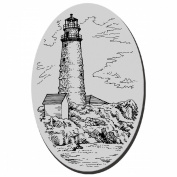 Stampendous Cling Rubber Stamp-Boston Lighthouse