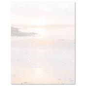 Geographics Design Paper, Shoreline, 24 lb, 22cm x 28cm , 100 Sheets Per Pack
