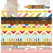 Colour Me Happy Double-Sided Paper Pad 20cm x 20cm 24/Sheets-