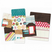 Daily Grind Memorabilia Pockets 6/Pkg-Sn@p! (1) 15cm x 20cm , (2) 10cm x 15cm , (3) 7.6cm x 10cm