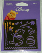Disney Brass Stencil Pooh 46619
