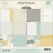 Pink Paislee - Portfolio Collection - 6 x 6 Petite Paper Pack