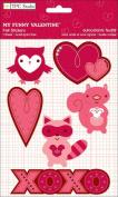 My Funny Valentine Felt Stickers // TPC Studio