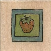 Strawberry Square Boyds Collection Wood Mounted Rubber Stamp
