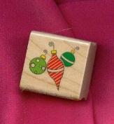 Mini Ornaments Rubber Stamp