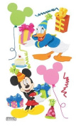 Disney 3d Stkr Mickey/Donald