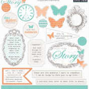 Teresa Collins Designs Tell Your Story Chipboard Elements