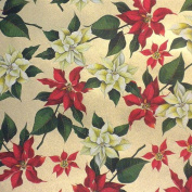ROSSI Poinsettia Fine Art and Gift Wrap Paper 70cm x 100cm Sheet
