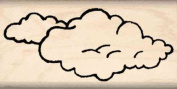 Clouds Rubber Stamp - 2.5cm x 5.1cm