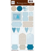 Heidi Grace Frost Blvd. Cardstock Stickers-Shapes