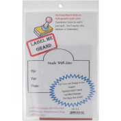 Embellishment Village Label Me Grand Quilt Label Stamp, Made with Love