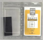 Scott or Prinz 67X25 BLACK Stamp Mounts SCOTT # 976B