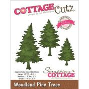 Cottage Cutz Dies - Woodland Pine Trees