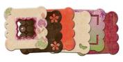 Bo Bunny Press - Garden Girl Collection - Mini Edgy Album - Garden Girl