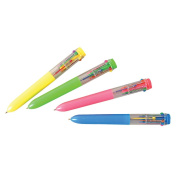 Rhode Island Novelty Ten Colour Shuttle Pens 2 dz