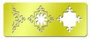 American Traditional Designs - 3 in 1 Cut & Fold Template - Triple Snowflake