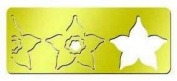 American Traditional Designs - 3 in 1 Cut & Fold Template - Triple Star Flower