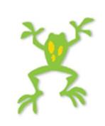 Ellison Design Thin Cuts - Frog
