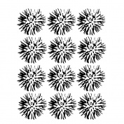 Joggles Stencil 23cm x 30cm -Flower Blossoms