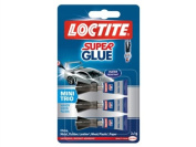 Loctite 1623820 1g x 3 SuperGlue Mini Trio