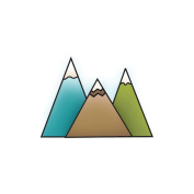 Outdoor Adventure Snag'ems Stamps-Three Peaks