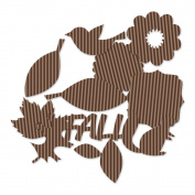 Hello Fall Corrugated Shapes