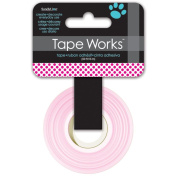 Tape Works Tape, Magenta Polka Dot